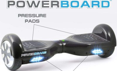 Powerboard by HOVERBOARD Two-Wheel Self Balancing Scooter with LED Lights